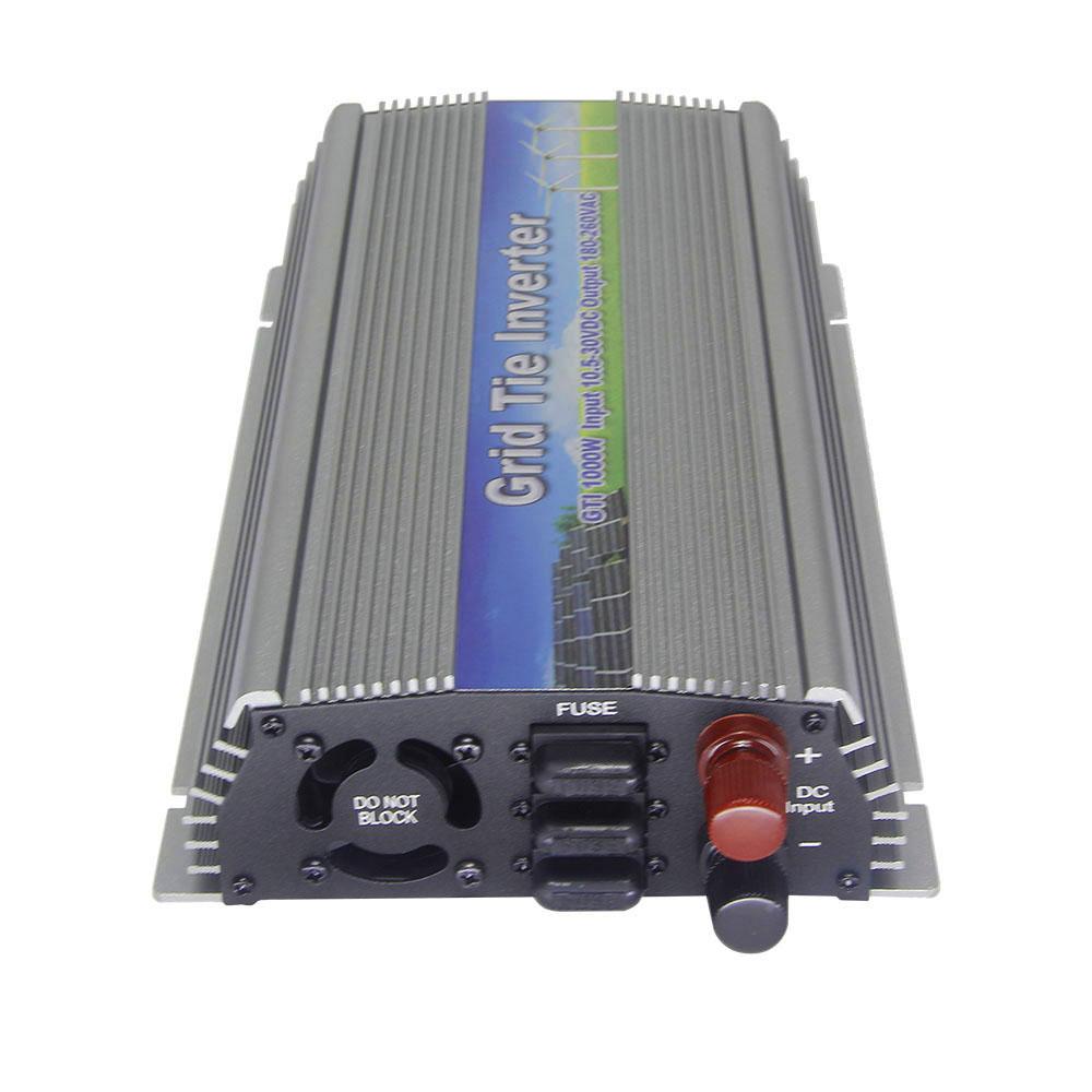 22-50V 4PCS 1000W Pure Sine Wave Solar Grid Tie MPPT Inverter, Output 90-140V.50hz/60hz, For Vmp28-40V Home solar system(China (Mainland))