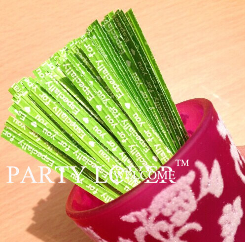 "Free shipping green especially for you twist tie for packaging bags 0.16*3.5"" 1000pcs/lot(China (Mainland))"