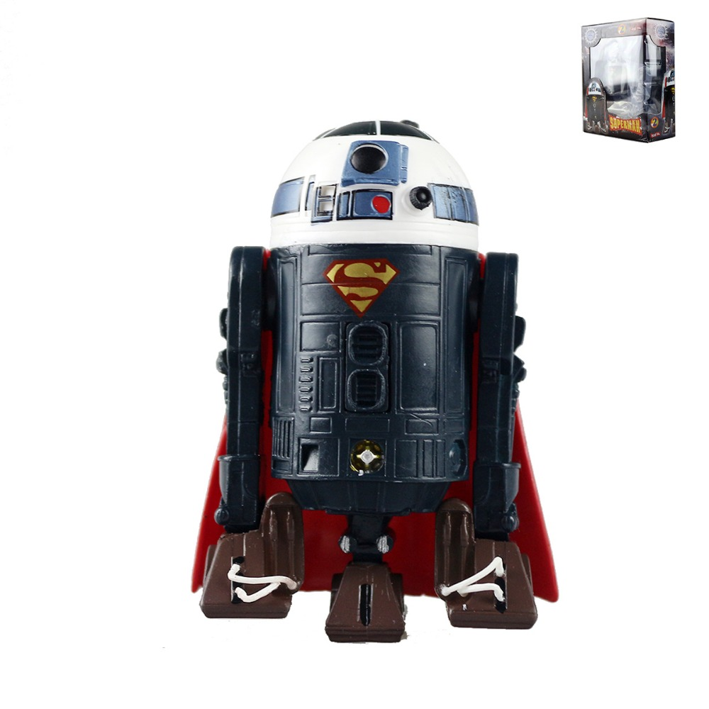 Hot Toys Star Wars R2D2 Cosplay DC Comics Superman Super Man Action Figure Collectible Model Toys Hasbro101(China (Mainland))