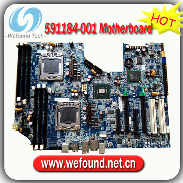 Hot! Server motherboard mainboard 591184-001For HP Z600(China (Mainland))