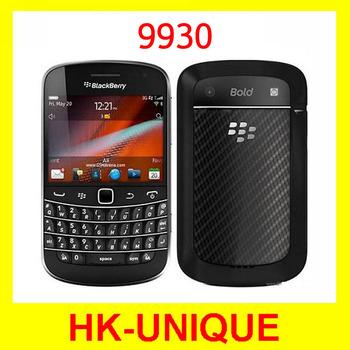 100%Original unlocked blackberry bold 9930 WIfi GPS 5.0Mp camera QWERTY keyboard smartphone in stock Free shipping