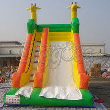 Inflatable Slip And Slide Inflatable Double Lane Slip Slide Inflatable Slide For Happy Childhood(China (Mainland))