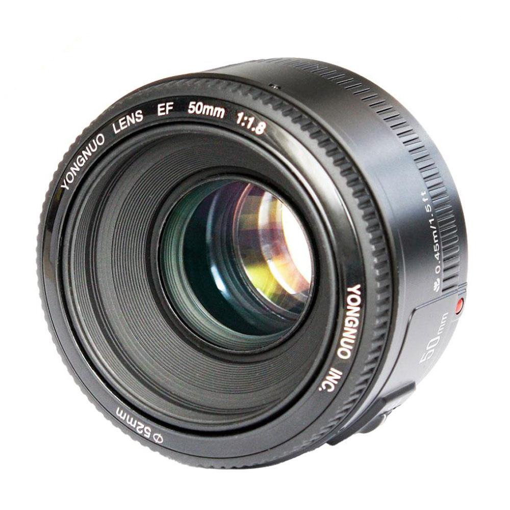 In Stock! <font><b>YONGNUO</b></font> YN <font><b>50mm</b></font> YN50mm F1.8 Lens Large Aperture Auto Focus Lens for Canon EOS 60D 70D 5D2 5D3 7D2 750D DSLR Cameras