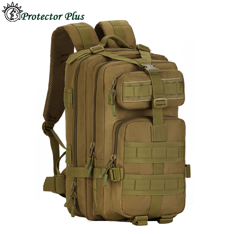 30L Outdoor Molle 3P Tad Military Tactical Camping Hiking Trekking Backpack Sport Traveling Rucksack Bags Waterproof 1000D Nylon