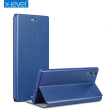 Buy X-Level Luxury Business PU Leather Case Sony Xperia XZ F8331 Dual F8332 Flip Cover Sony XZ Stand Case Ultra thin Cover for $8.98 in AliExpress store