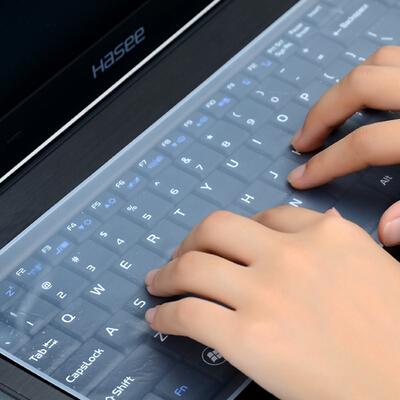 """17"""" 14"""" 15 Laptop keyboard film Waterproof notebook keyboard protective film silicone Laptop Keyboard cover dustproof film(China (Mainland))"""