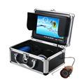 7 TFT LCD Underwater Fishing Camera 15M Color Monitor 1000TVL IR LED Fish Finder Video Camera