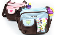 free shipping heart and embroidered mummy bags  multifunction fashion  mother bag small diaper bag mummy bags