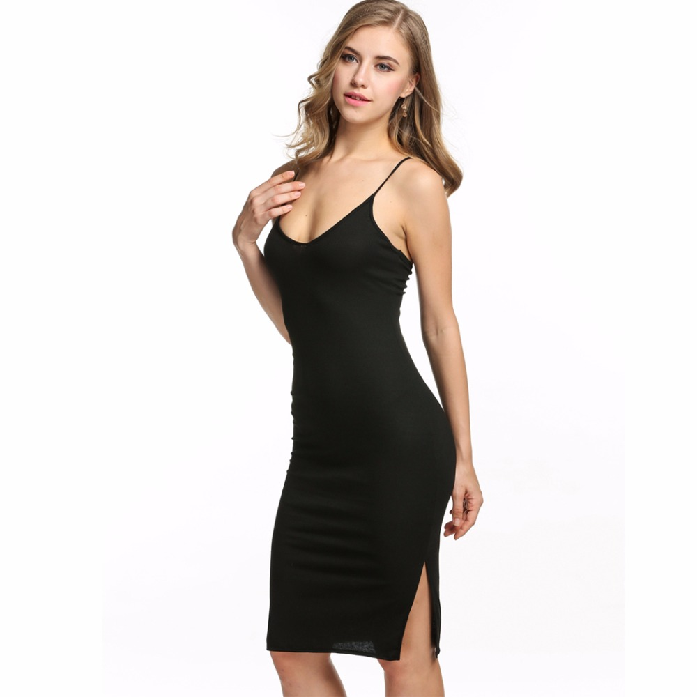 Fashion Elegant Sexy Bandage Women Dress Bodycon Sundress Tunic Clothing Clothes Female Black Kleider Robe Femme Vestido De 2016
