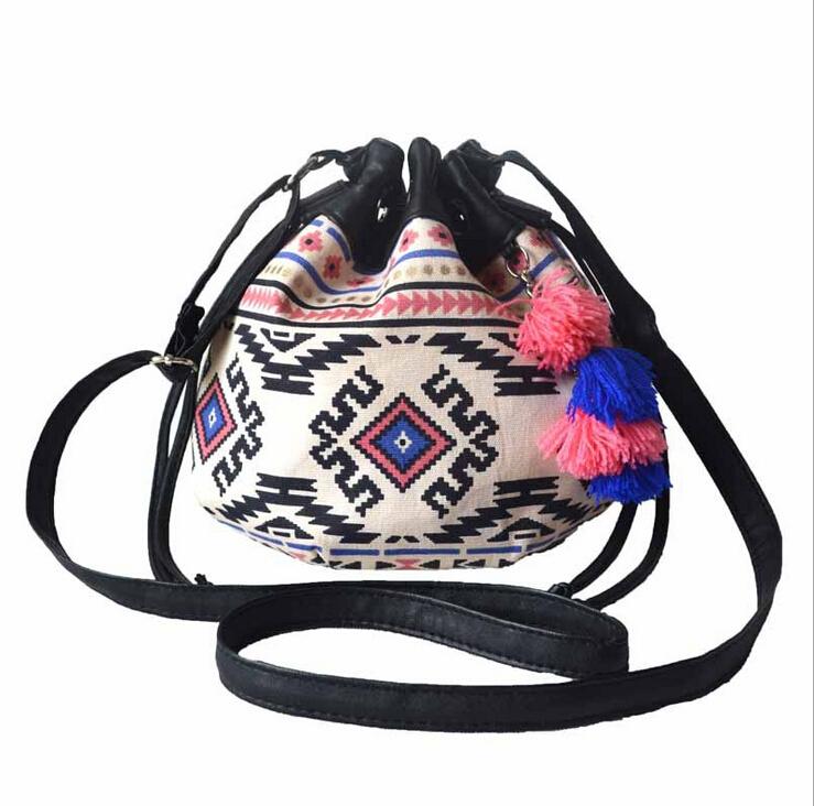 stacy bag hot sale new arrivals popular women handbag lady fashion ethnic style small shoulder bag girl kids mini bucket bag(China (Mainland))