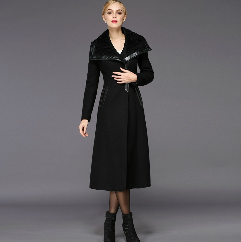 Ladies Long Wool Coats - Coat Nj