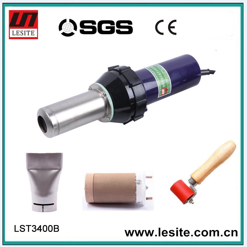 220V 3400W CE Handheld Hot Air Plastic Welder Gun PVC welding Hot Air Welding gun plastic machine hot air gun torch(China (Mainland))