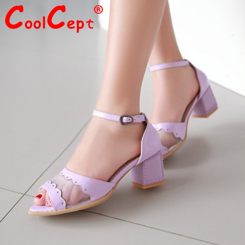 women open peep toe ankle strap high heel sandals lace summer sexy fashion ladies heeled footwear heels shoes size 34-42 P18272<br><br>Aliexpress