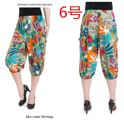 Awesome Elasticated Printed Harem Pants  Just 5