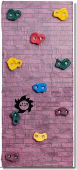 2015 Tobogan Infantil скалолазание стены для детей , чтобы поддерживать ручка крытая спортивная площадка для комнаты аппаратных средств, в том числе винты