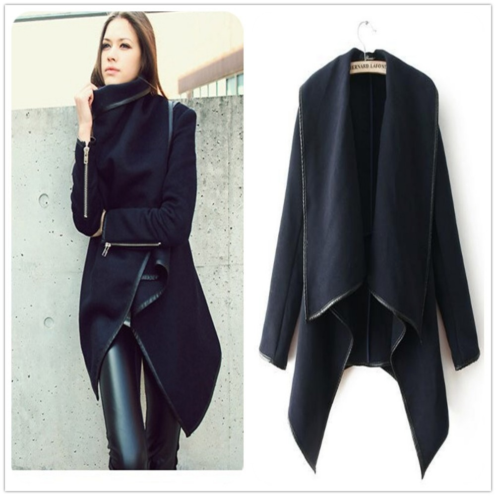 Fall-winter trendy coats made of leather Expand your collection of trendy jackets for women or ladies coats with the coolest faux or original leather designs. These style items are considered extremely practical during the rainy days.