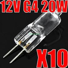 Buy 10 Pcs Halogen Light Bulb 20W 20 Watt 12V G4 Base JC Type EB3161 for $1.26 in AliExpress store