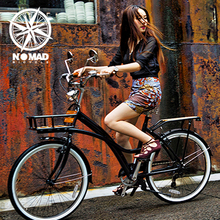 "NOMAD 24"" 7 Speed Swan Vintage Bicycle for Female, Japan Imported City Road Bike, Leisure Cycling(China (Mainland))"