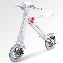 New Foldable Electric Scooter Portable scooter Electric electric bike for Adult Kick scooter-White Color(China (Mainland))