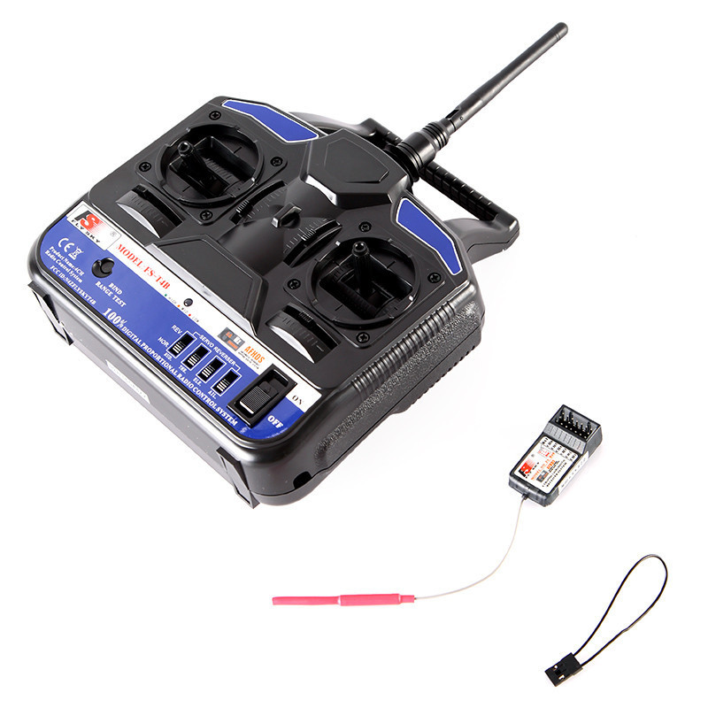 RC FlySky 2.4G 4CH Radio Control transmitter FS CT4B FS-T4B T4B with receiver for remote control quadcopter DIY QAV250 part(China (Mainland))
