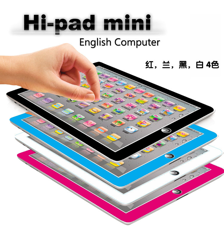 Y Pad English Computer Learning Machine, Ipad Touch Tablet, Kid learning & reading Toy, Baby YPat Educational Toys for Children(China (Mainland))