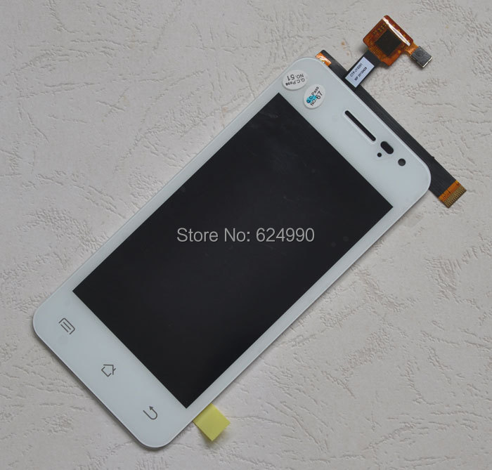 White Original G2S LCD Display Touch Screen + LCD display Replacement Assemble for JIAYU G2S Touch Pane + free shipping