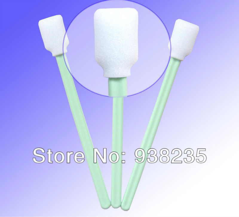 Fedex Free Shipping - 5000 pcs Roland Mimaki Mutoh Printer Solvent Cleaning Foam tip Swabs(China (Mainland))