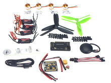 F02047-C 4-axis GPS Mini Drone Helicopter Parts ARF DIY Kit: GPS APM 2.8 Flight Control EMAX 20A ESC Brushless Motor
