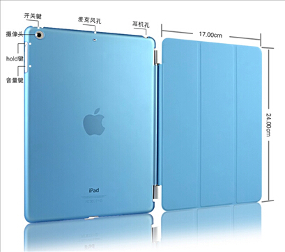 original style magnetic ultra slim leather case for apple ipad air smart cover flip thin air