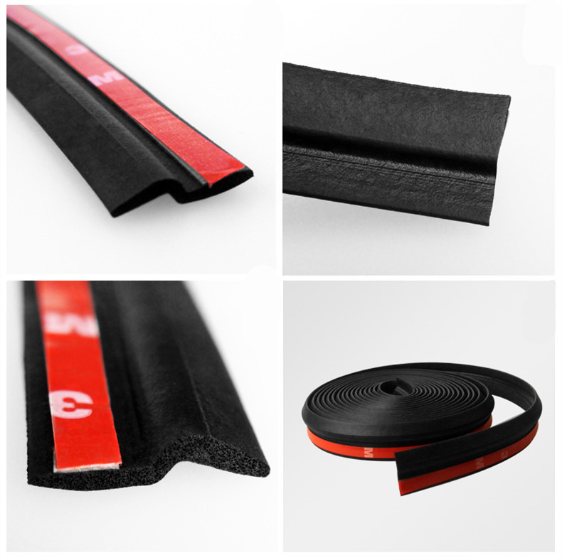 2M 78'' Z Shape Car Rubber Seal Strip Weatherstrip Door Black Soundproof waterproof Anti-Collision absorption Airtight(China (Mainland))
