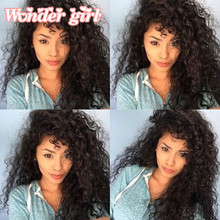 7A Peruvian Water Wave Big Sale Curly Hair 8''-30'' Mixed Length Best 100g/Bundle Human Extension Thick Ends - Wonder girl Products Co.,Ltd. store