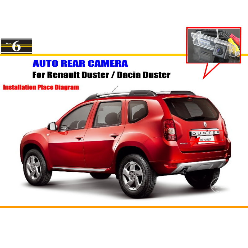 car rear view camera for renault duster dacia duster reverse camera hd ccd rca ntst pal. Black Bedroom Furniture Sets. Home Design Ideas