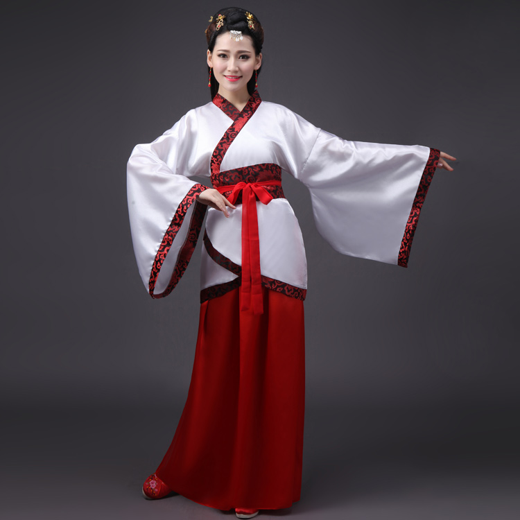 ancient chinese costume women clothing clothes robes traditional beautiful dance costumes hanfu ...