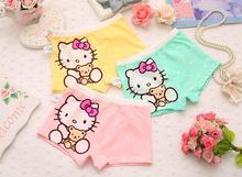 Buy 3pcs cat Children's underwear,GIRLS Panties, children cartoon KT cat underwear,girl boxer briefs 3-11years 100% cotton for $9.03 in AliExpress store