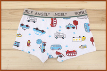 Hot selling free shipping cotton children's car panties kids boys underwear boxers(China (Mainland))