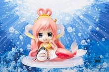 One Piece Q Version Shirahoshi Mermaid Princess Poseidon Neptune Shark The FishMen IslandPVC Action Figure Doll Toys