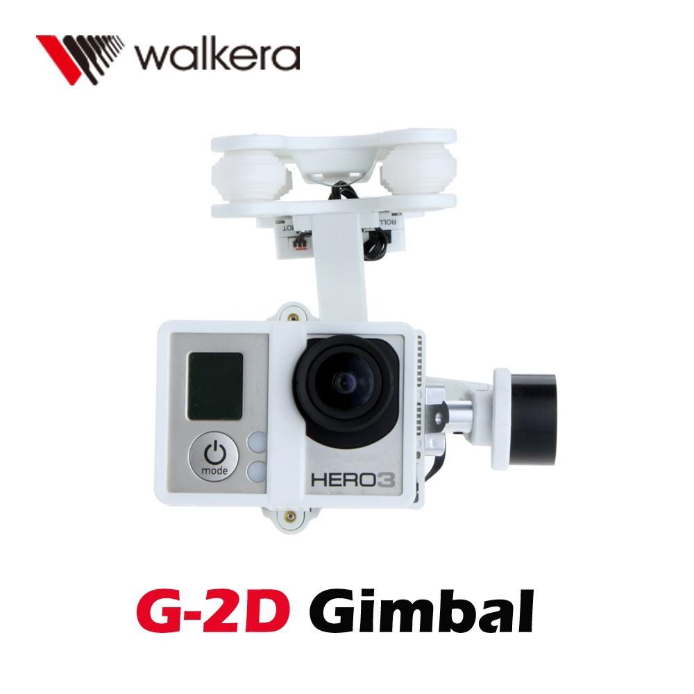 F10151 Original Walkera G 2D White Plastic Brushless Gimbal for iLook GoPro Hero 3 Camera on