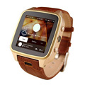 Fashion SZ9 Android 4 4 GSM 3G MTK6572 Dual Core Smart Watch Phone 8G Memory Side