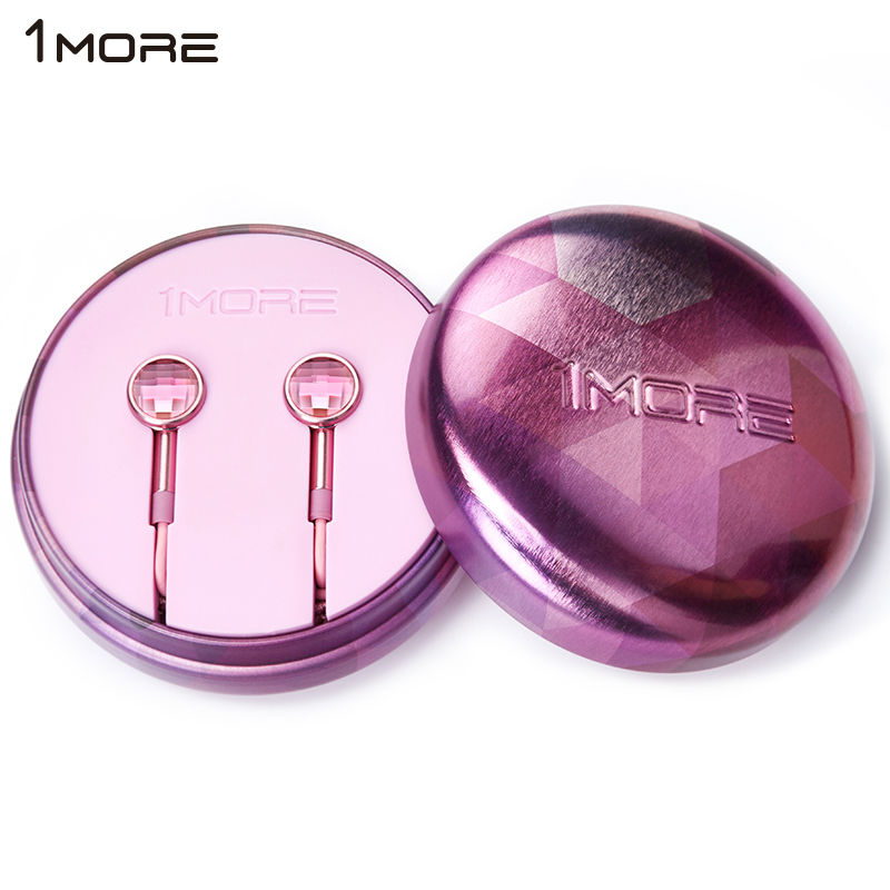 1MORE earphone EO301 Crystal In-Ear piston earphone Xiaomi Hybrid stereo sound earbuds with mic metal earphone for apple phone(China (Mainland))