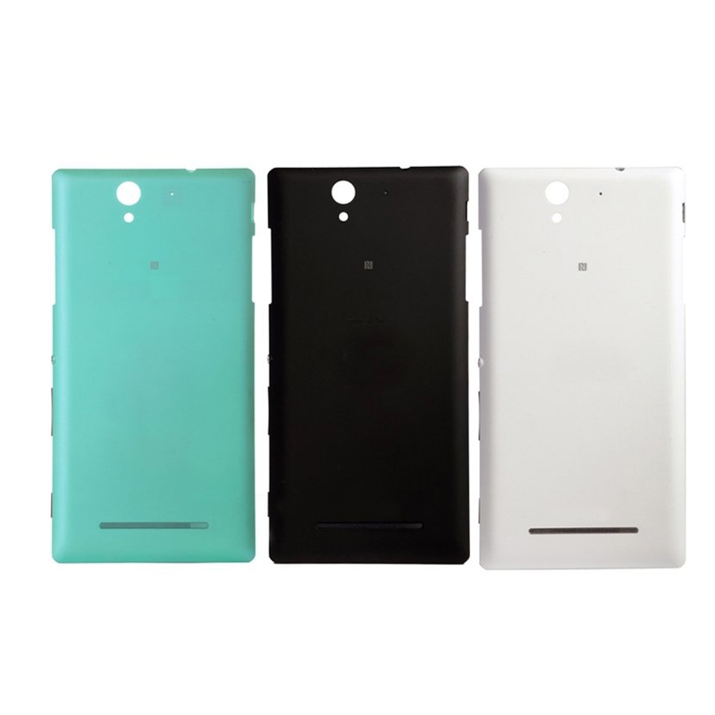 Sony Xperia C3 Cases Original Back Door Battery Housing Cover Case S55T S55U Logo Replacement Repair - Cilicon store