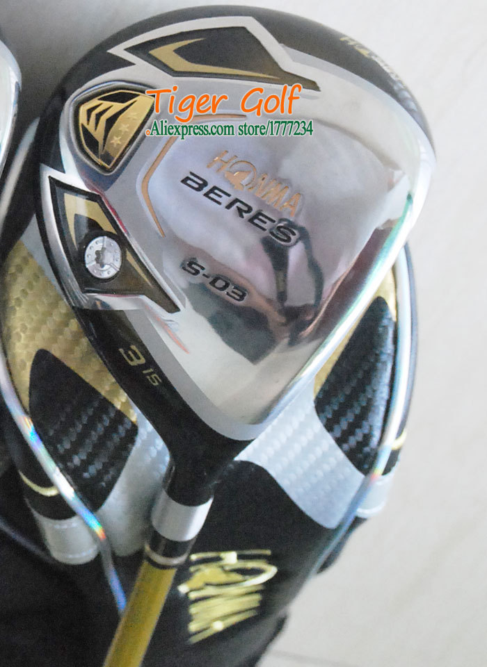 New Golf clubs HONMA BERES S-03 Golf Fairway Wood 3/15 5/19 loft Graphite Golf shaft and Wood headcove clubs wood Free shipping(China (Mainland))