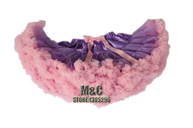 1 Piece Fashion Fluffy Chiffon Pettiskirts tutu Baby Girls Skirts Princess skirt dance wear Party clothes 12M-10T(China (Mainland))