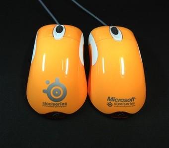 Free shipping! 100% original 2 kinds Orange stoving varnish MOD edition mouse for Microsoft Intellimouse Optical IO1.1(China (Mainland))
