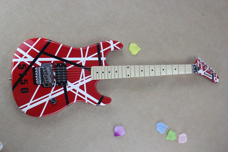 Wholesale New Arrival Red Kramer 5150 Electric Guitar From China Free Shipping(China (Mainland))