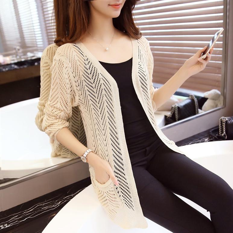 2016 spring pull femme women cardigans sweater shrug korean cardigan big knitting sweaters burderry women poncho(China (Mainland))