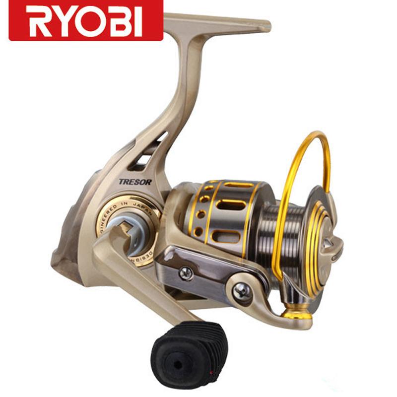 Ryobi tresor fishing reel 5bb1000 4000series aluminum for Ryobi fishing reel