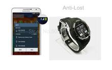Resistente a la intemperie Bluetooth del reloj del teléfono con podómetro cámara GSM habilitado reloj deportivo