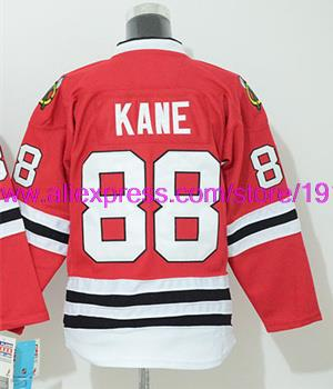 Chicago Blackhawks Womens Jerseys #88 Patrick Kane Red Ice Hockey Jersey Free Shipping 4200