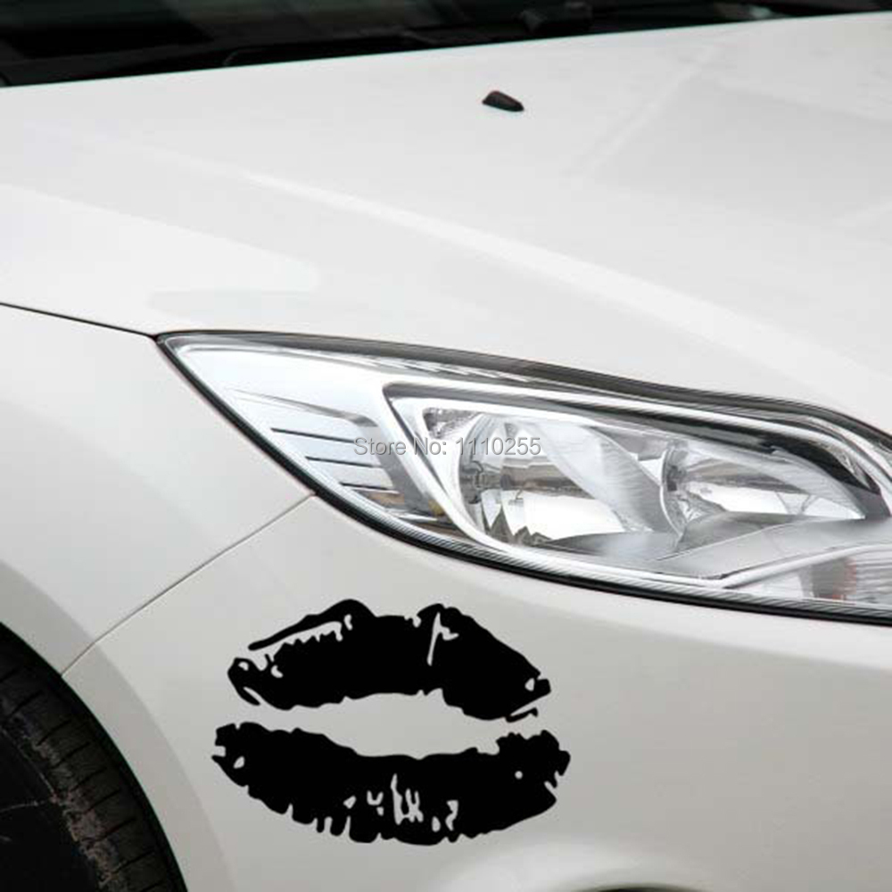 Car decal design singapore - Newest Design Funny Sexy Lips Car Stickers Decal For Toyota Ford Chevrolet Volkswagen Tesla Honda Hyundai