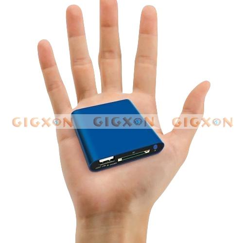 1080P Mini Full HD Media USB HDD Player SD/MMC Card Reader(China (Mainland))